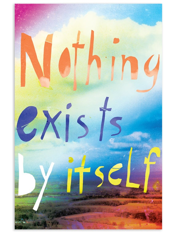 Nothing exist by itself - Inspirational Postcard Set (Set of 5)