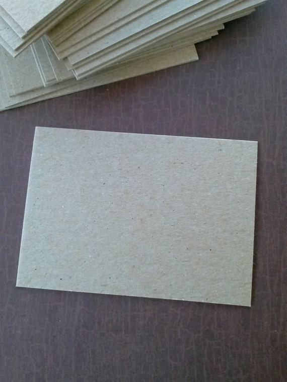 ACEO chipboard blanks, set of 25