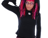 Kawaii Kitty Cat Hooded Top ~ Cute ~ Alternative ~ Cosplay ~ Fantasy ~ Costume ~ Sizes 6 to 30 ~ Last Chance to Buy