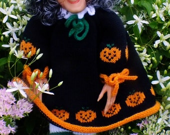 Halloween Knitted Witch