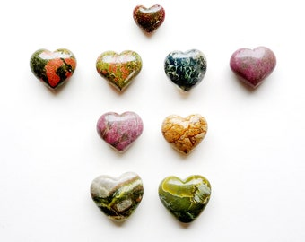 Valentines Day Gift Heart Gemstone