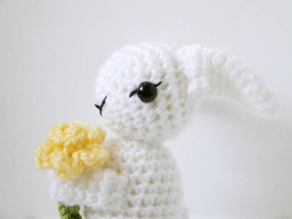 Amigurumi Bunny Pattern - Crochet Rabbit - Easter