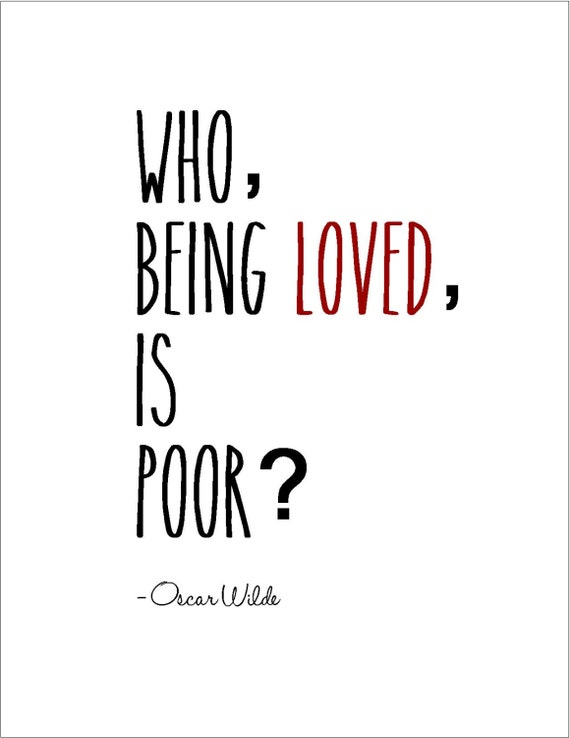 instant download oscar wilde printable love quote literary