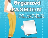 The Organized Fashion Designer - PDF printable forms ebook