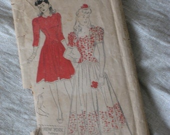 1930s New York Pattern 501 Styled by Louise Scott (4230-W)