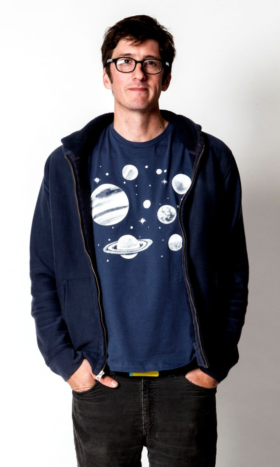 Men's Solar System Tee
