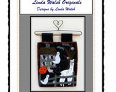 Alpacas Rock - Alpacas At Spooky Hollow Mini Quilt and Embroidery E-Pattern