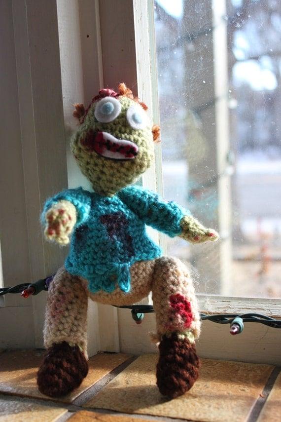 Amigurumi Patterns K And J Dolls Blog : CROCHET PATTERN Zombie Doll