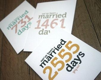 Custom Wedding Anniversary Card