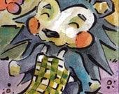 Animal Crossing - Art Print of Original Watercolor Painting - Mabel of the Ables - Geek Decor