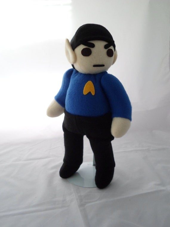 Cuddly Plush Science Officer