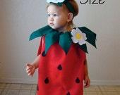 Adult Strawberry Halloween Costume Berry Teen Womens Photo Prop Dress Up Cosplay