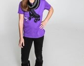 Roller Skate Shirt perfect for small Roller Derby Fans, sizes 2T to 8Y