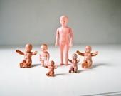 Vintage Dolls - Rubber Babies - Celluloid Plastic Baby - Celluloid Plastic Girl - BeeJayKay