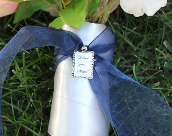 READY TO SHIP Mother of the Bride or Groom Bouquet/Corsage Charm