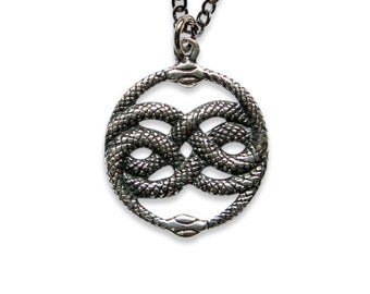 AURYN Necklace Pendant Solid Sterling Silver The Neverending Story233