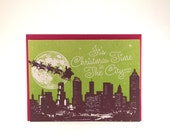 Atlanta Christmas Card - Green