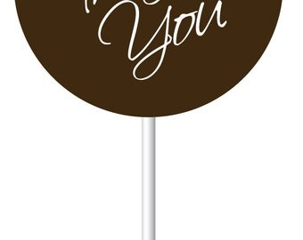THANK YOU *New* Designer Print on Classic Oreos or Sweeties Pops