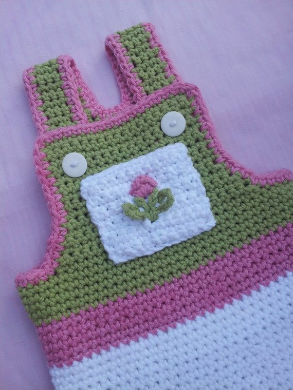 Crochet Baby Overall Patterns : Baby Overalls Crochet Pattern Pdf Instant download available