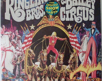 1976 Ringling Brothers and Barnum and Bailey Circus Magazine