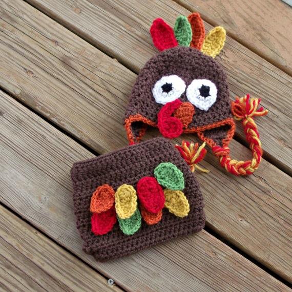 b3d7211ec Thanksgiving Turkey Baby Diaper Cover Hat Sets   Thanksgiving Wikii