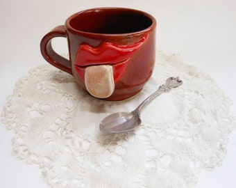Stick out your Tongue porcelain Face Mug