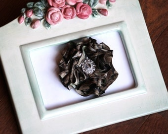 New Realtree AP Camo Bling Flower Pin or Clip Prom Wedding Purses
