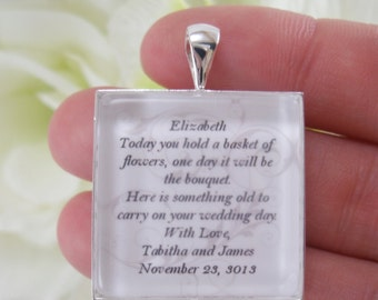Flowergirl Keepsake Bouquet Charm