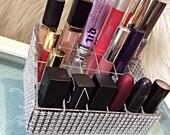 Glam lipstick holder, Vanity Table, Make up organizer, Lipstick Tray