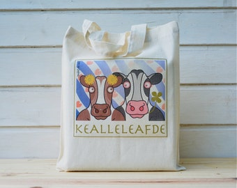 Canvas Tote Bag 'Kjealleleafde'