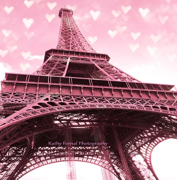 Paris Eiffel Tower Photography Pink Paris Photography Eiffel