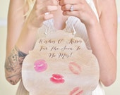Bridal Shower Guest Book Alternative Sign Bachelorette Party Gift NEW 2014 Design by Morgann Hill Designs