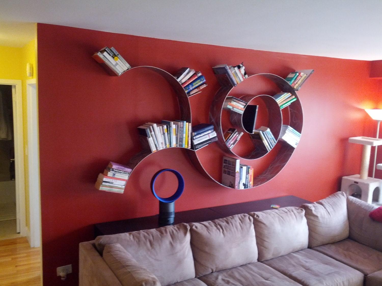 etagere murale spirale