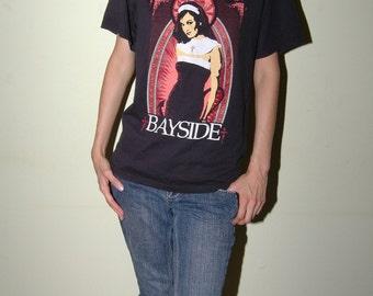 Bayside T shirt DIY Sz M/L