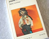 Creative Papier Mache Vintage 70s crafting book by Betty Lorrimar