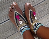 The Gypsy Dance- Tribal barefoot sandals