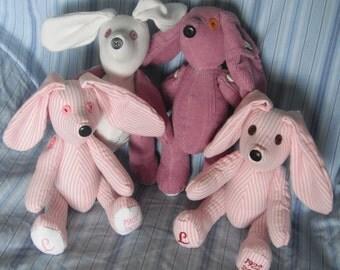 Memory Bunnies custom orders