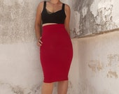High Waisted Skirt, Pencil Skirt
