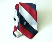 pierre cardin striped tie 1980s - 1206007