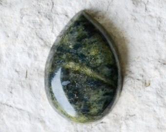 Serpentine Cabochon - Serpentine Cab - Green Serpentine Stone