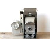 Camera, Polaroid Land Camera Vintage The 800 Wink Light Flash