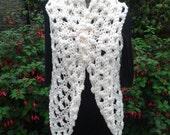 Crochet Pattern for Petal Vest