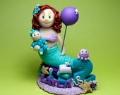 DEPOSIT - Under the sea Beach Party Birthday Cake Topper
