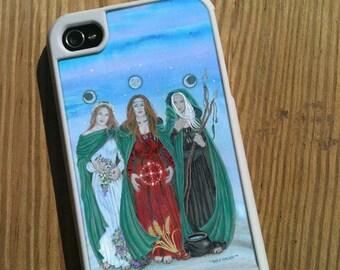 iPhone 4/4s Case Triple Goddess Art