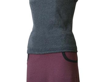 Fleece hoodie Fleece vest Custom Sleeveless hoodie. Sleeveless shirt. Fleece hoodie. Womens top