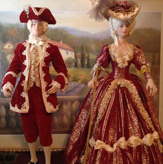 Maria Antonieta And Luis Xv Siglo Xviii Historical By