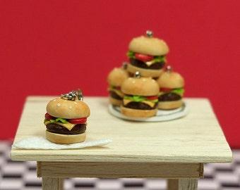 Tiny Cheese Burger Charm 2.0