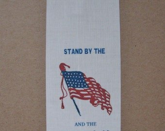 Small Civil War Patriotic Stand by the Union Ribbon
