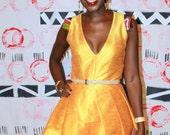 Grace pleated dress