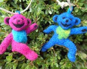 Dancing Bears Wool Needle Felting